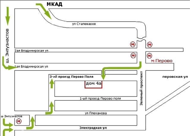 Схема проезда на Яндекс.Картах